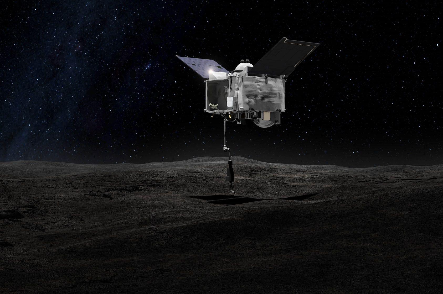 nasa asteroid mission space OSIRIS