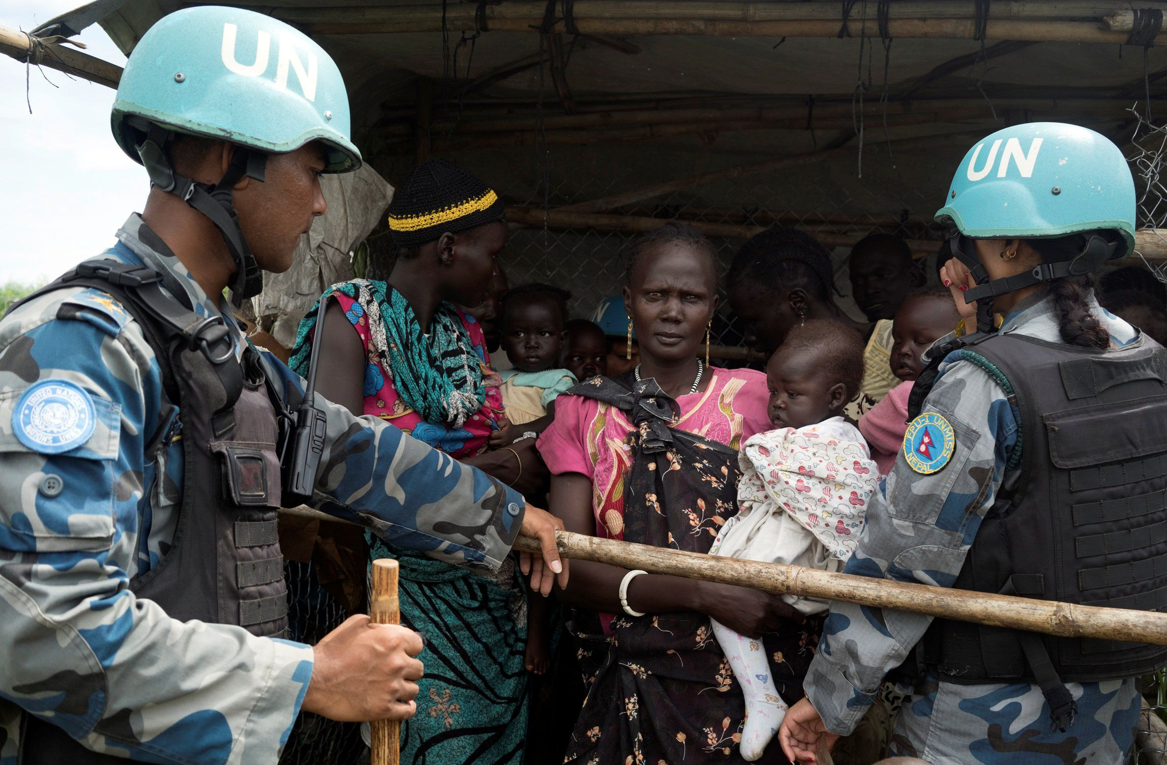 U.N. peacekeepers South Sudan