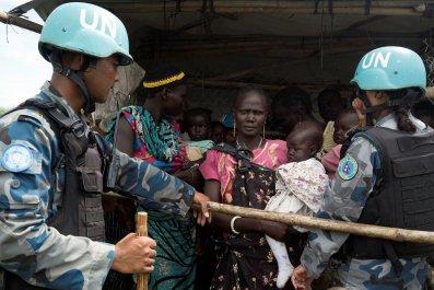 U.N. peacekeepers South Sudan