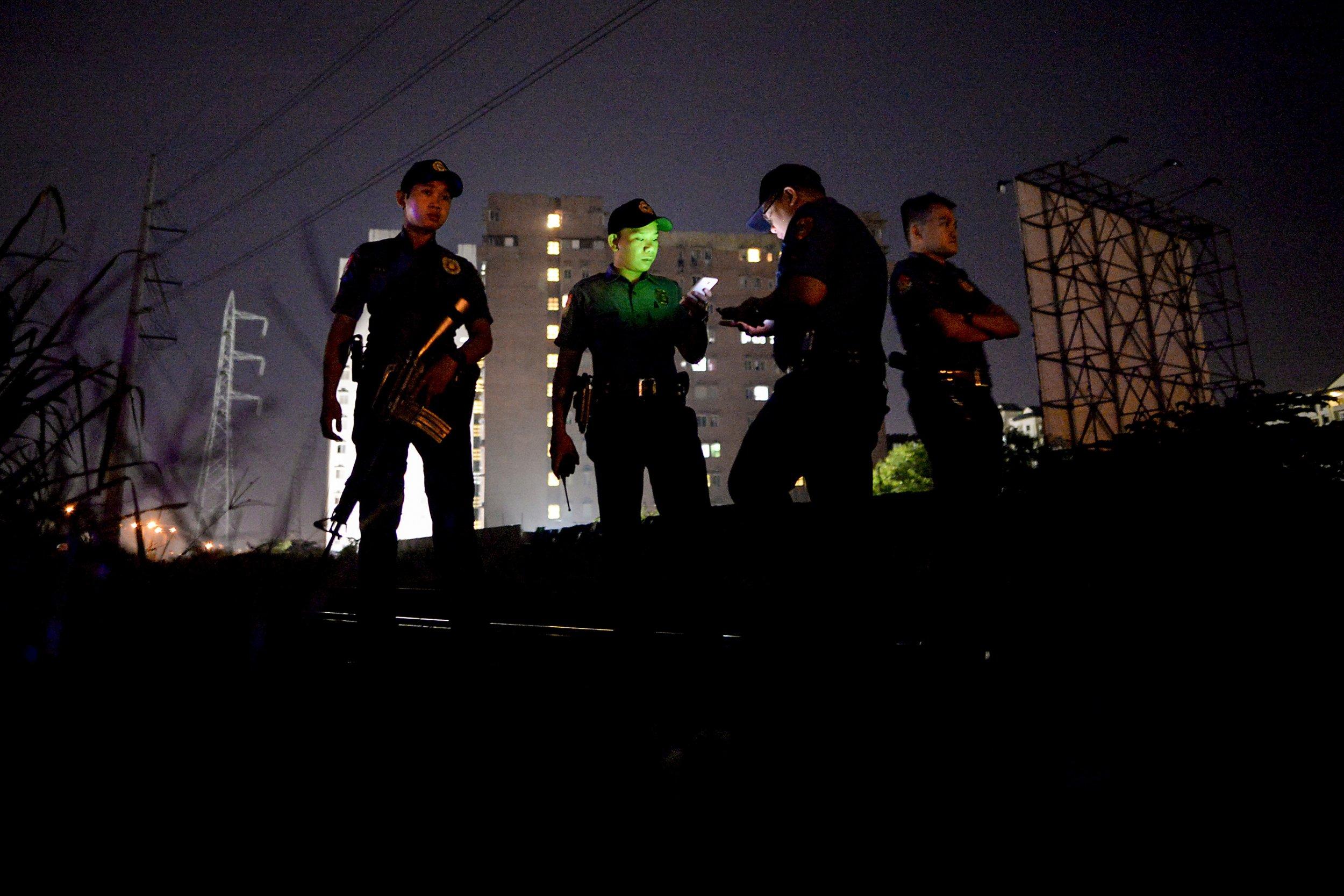 Philippine cops