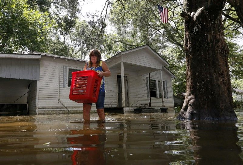 Flooded Louisiana Homeowners Without Insurance Face Costly
