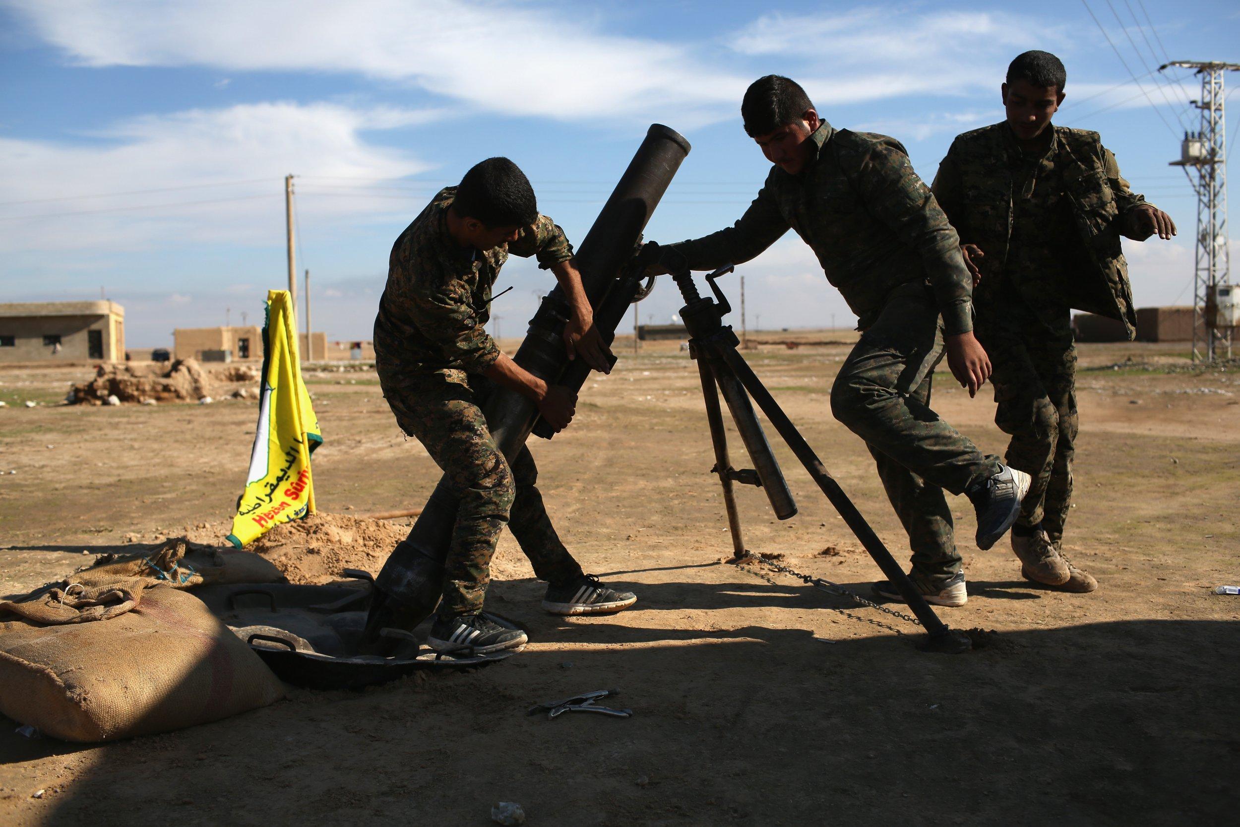 Kurdish Syria Hasaka