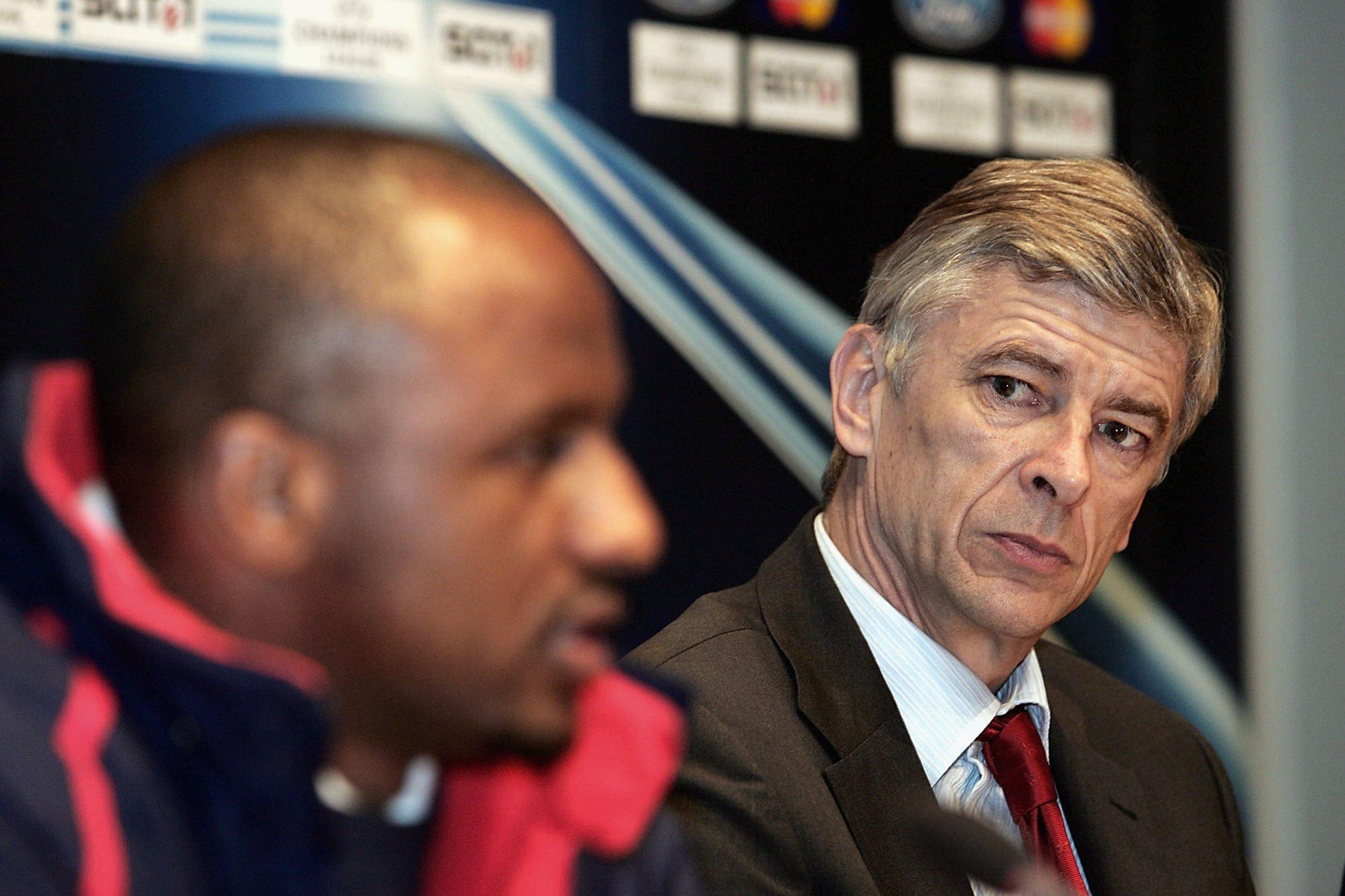 Arsenal: Patrick Vieira Slams Former Boss Arsene Wenger