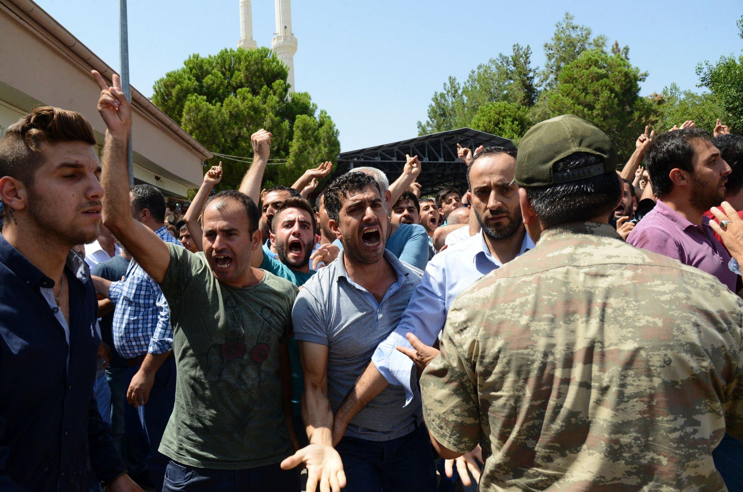 Turkey Suicide Bomb Gaziantep
