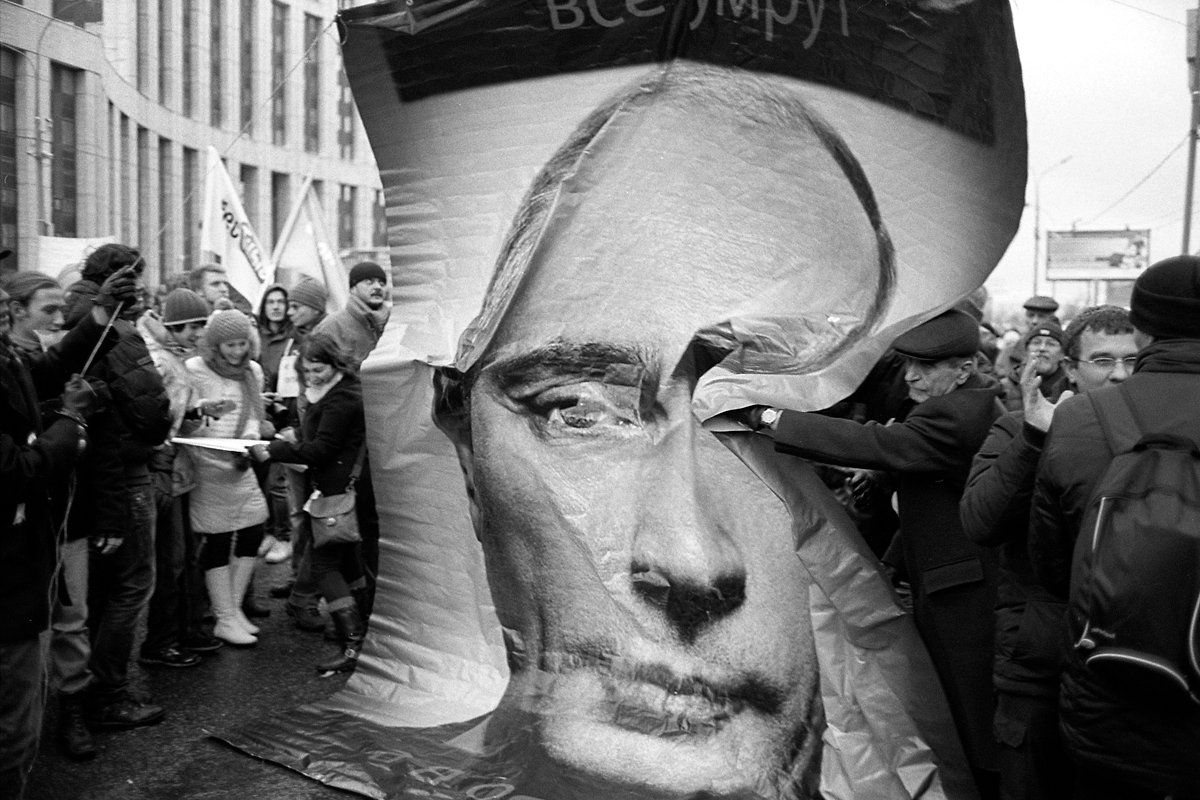 anti-putin demonstrations in Moscow