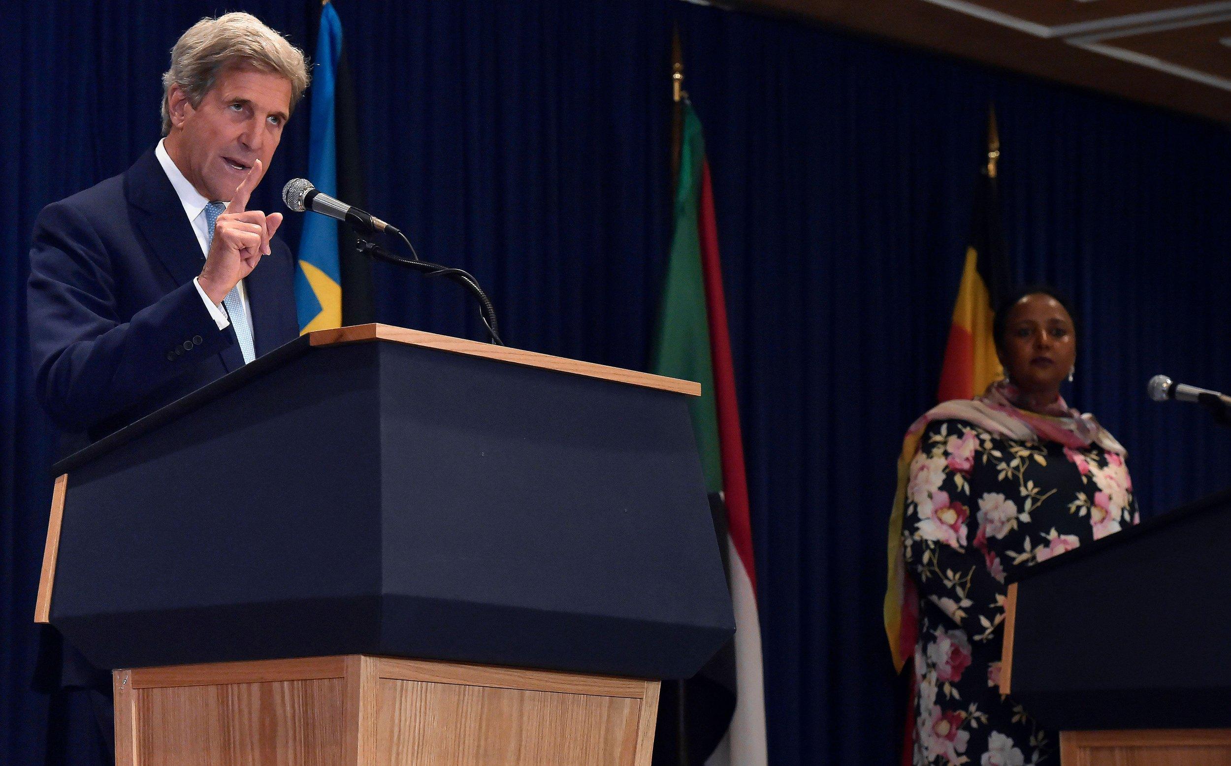 John Kerry in Kenya
