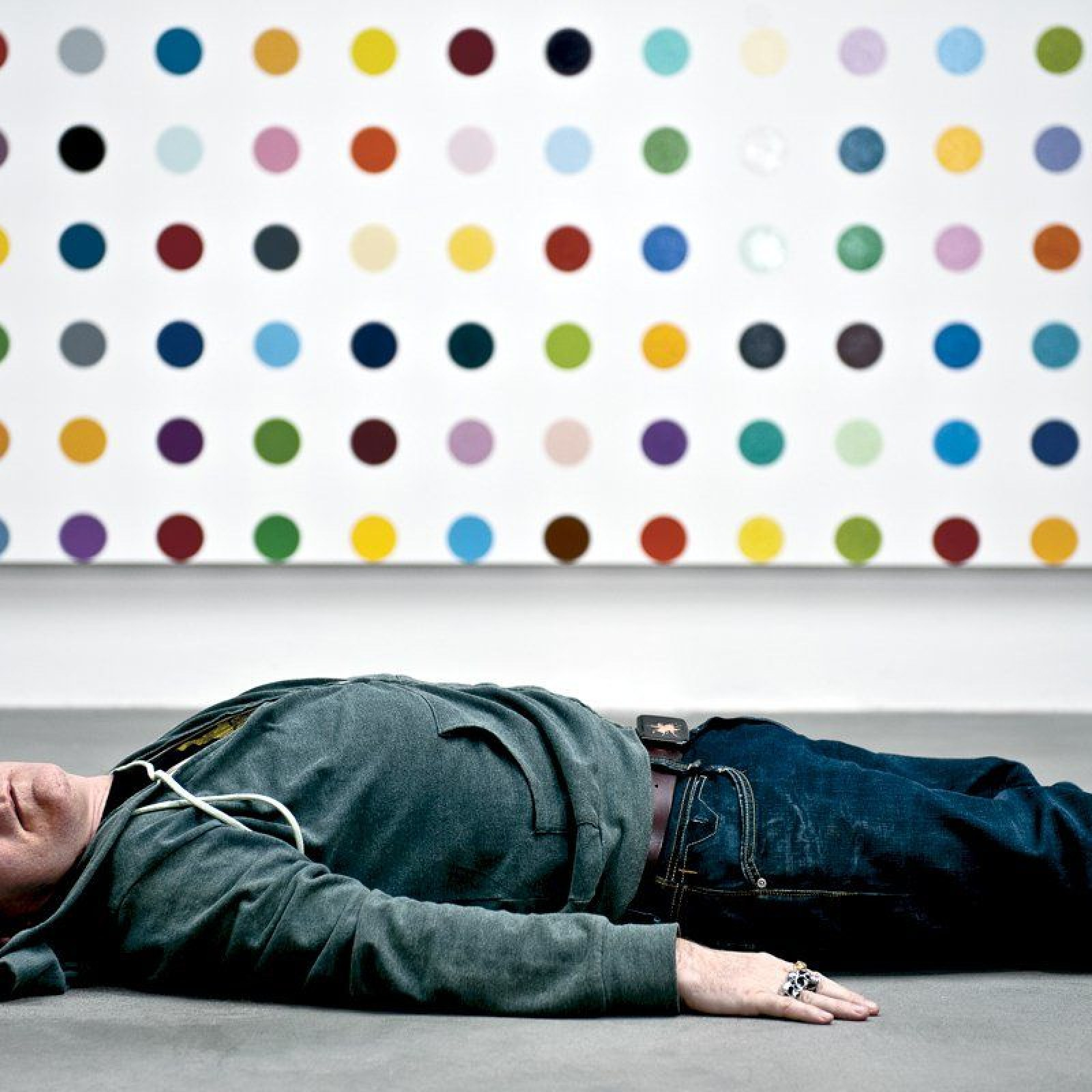 Damien Hirst S Spot Paintings Take Over The World