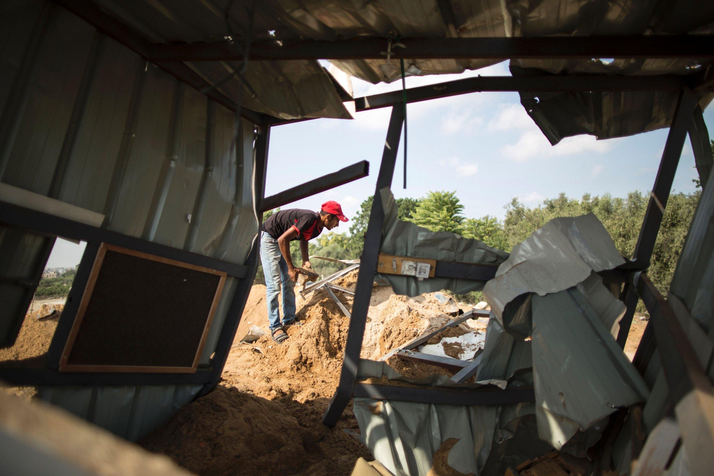 Gaza U.S. Israel Strikes