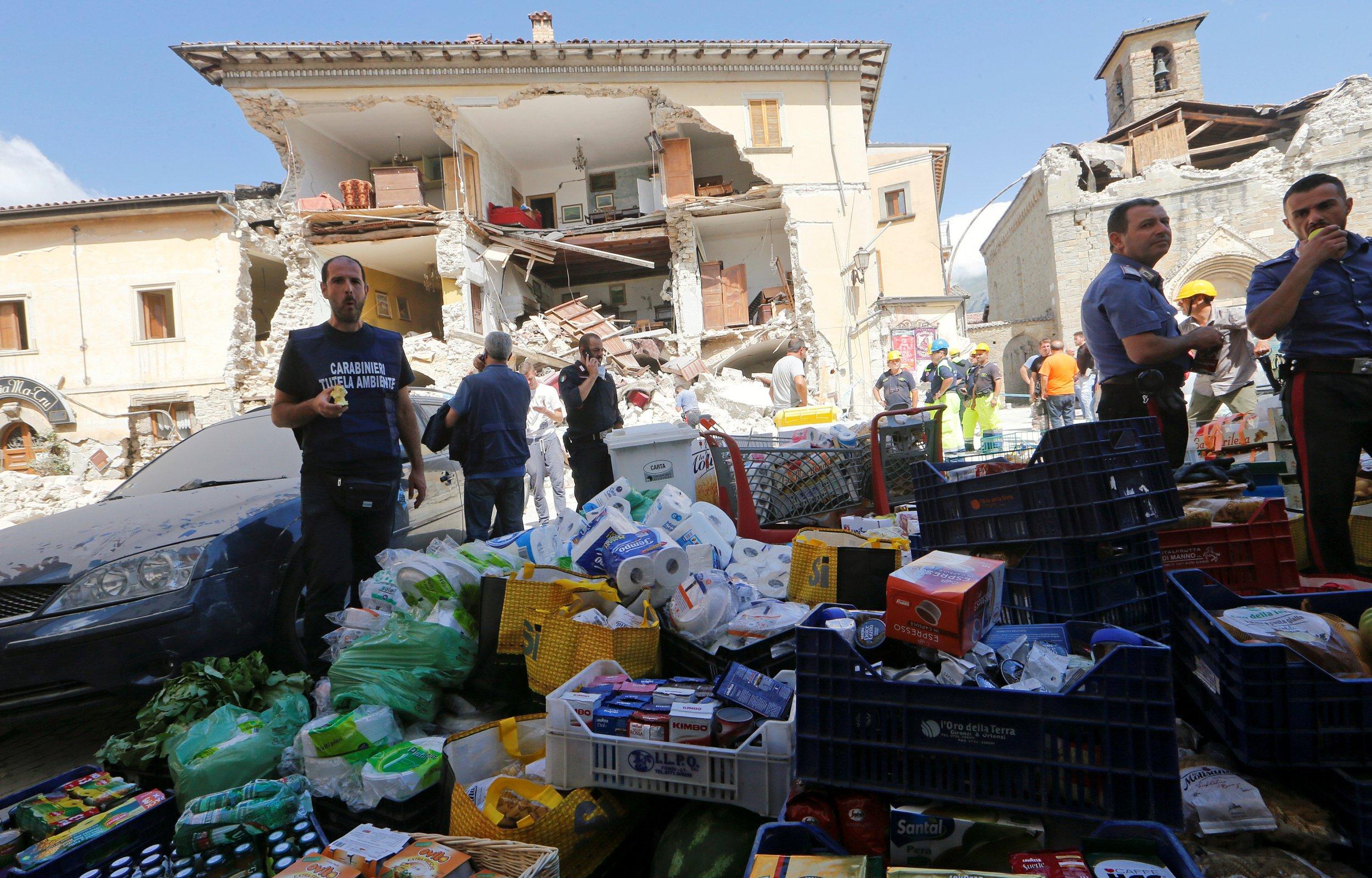 Earthquake in Amatrice