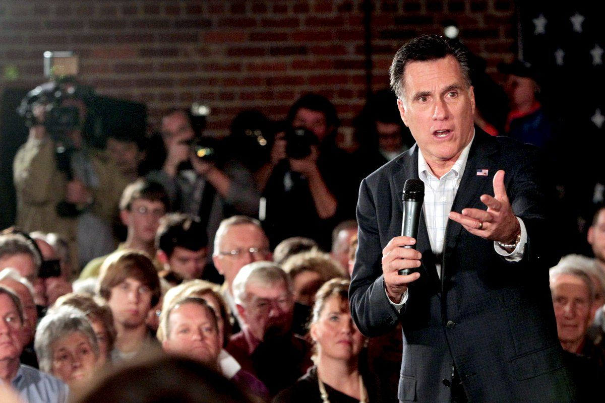 Mitt Romney in Columbia, S.C.