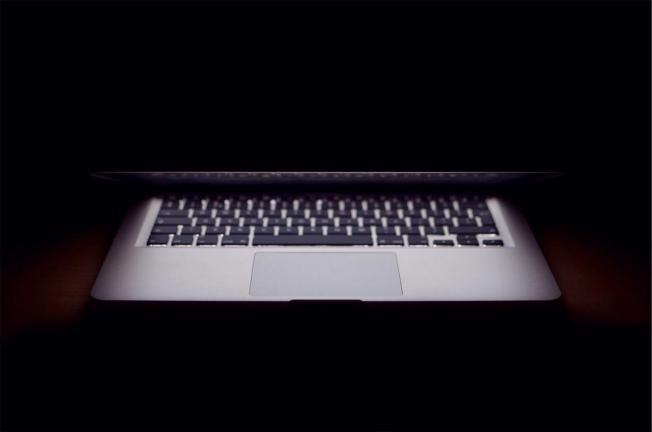 Dark Laptop