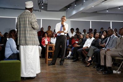 Barack Obama in Kenya