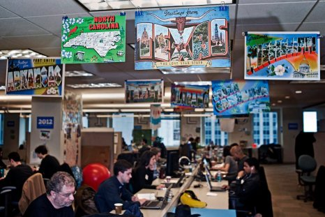 Obama re-election campaign office