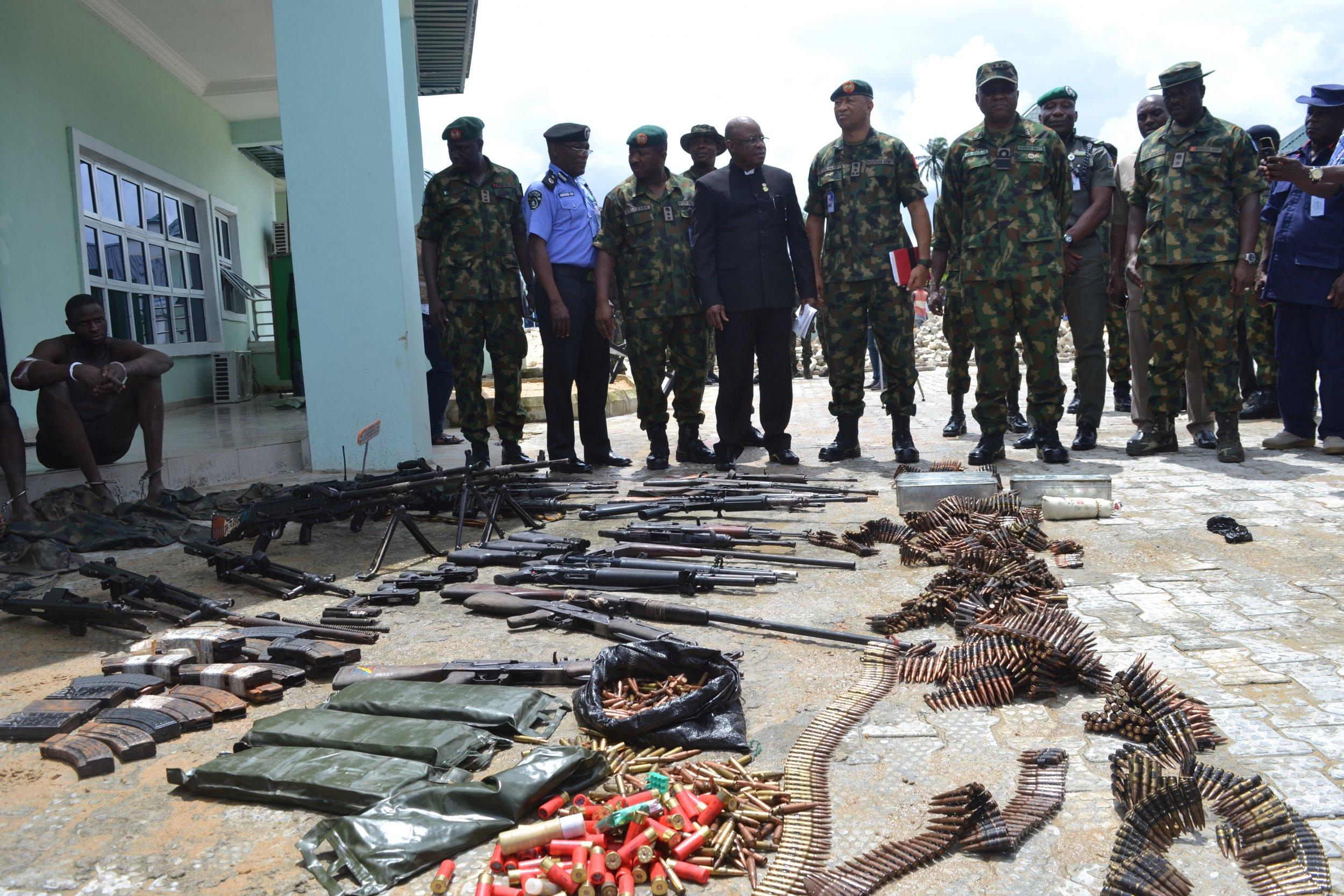 Niger Delta arrests