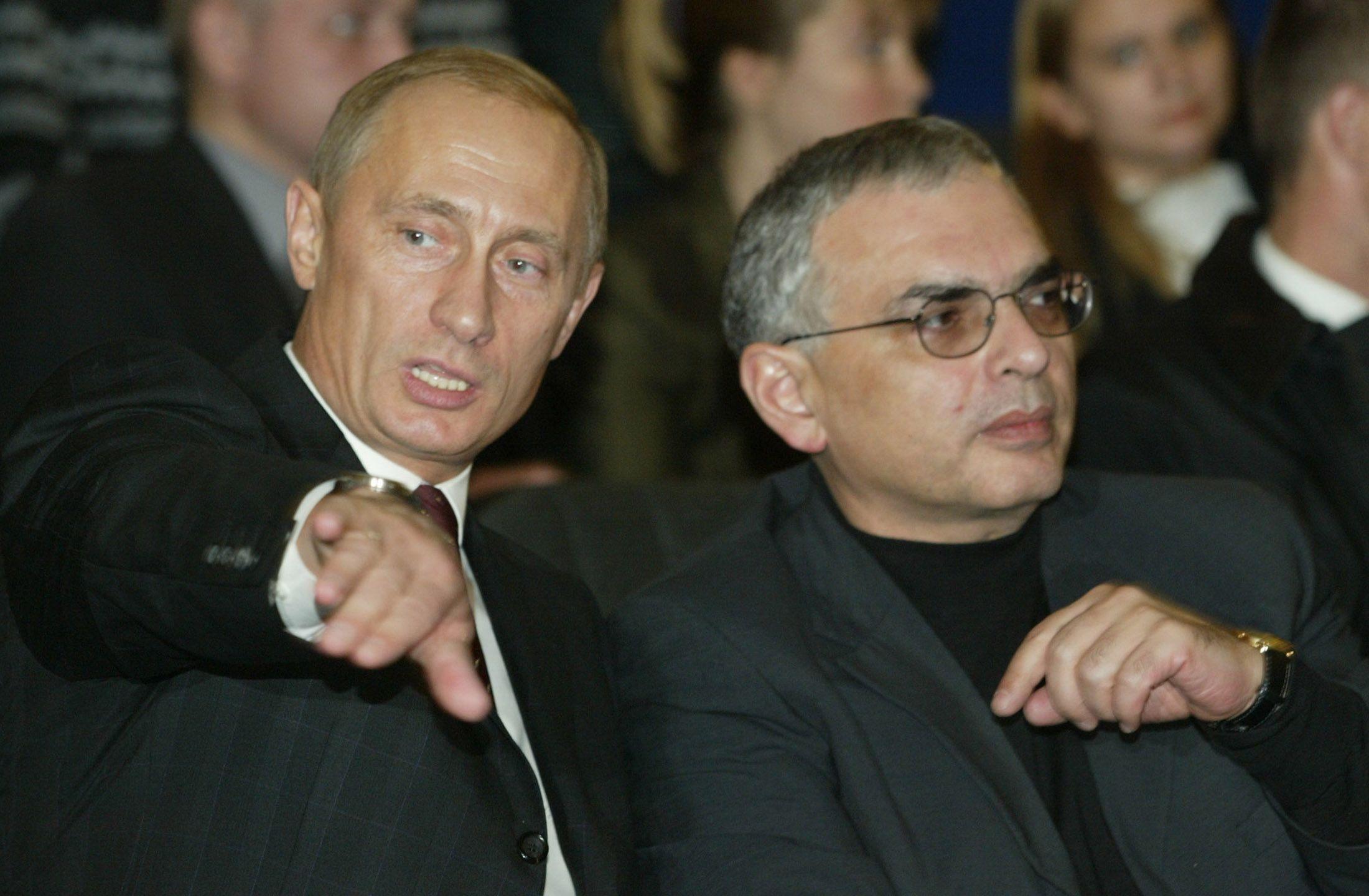 Vladimir Putin and Karen Shakhnazarov
