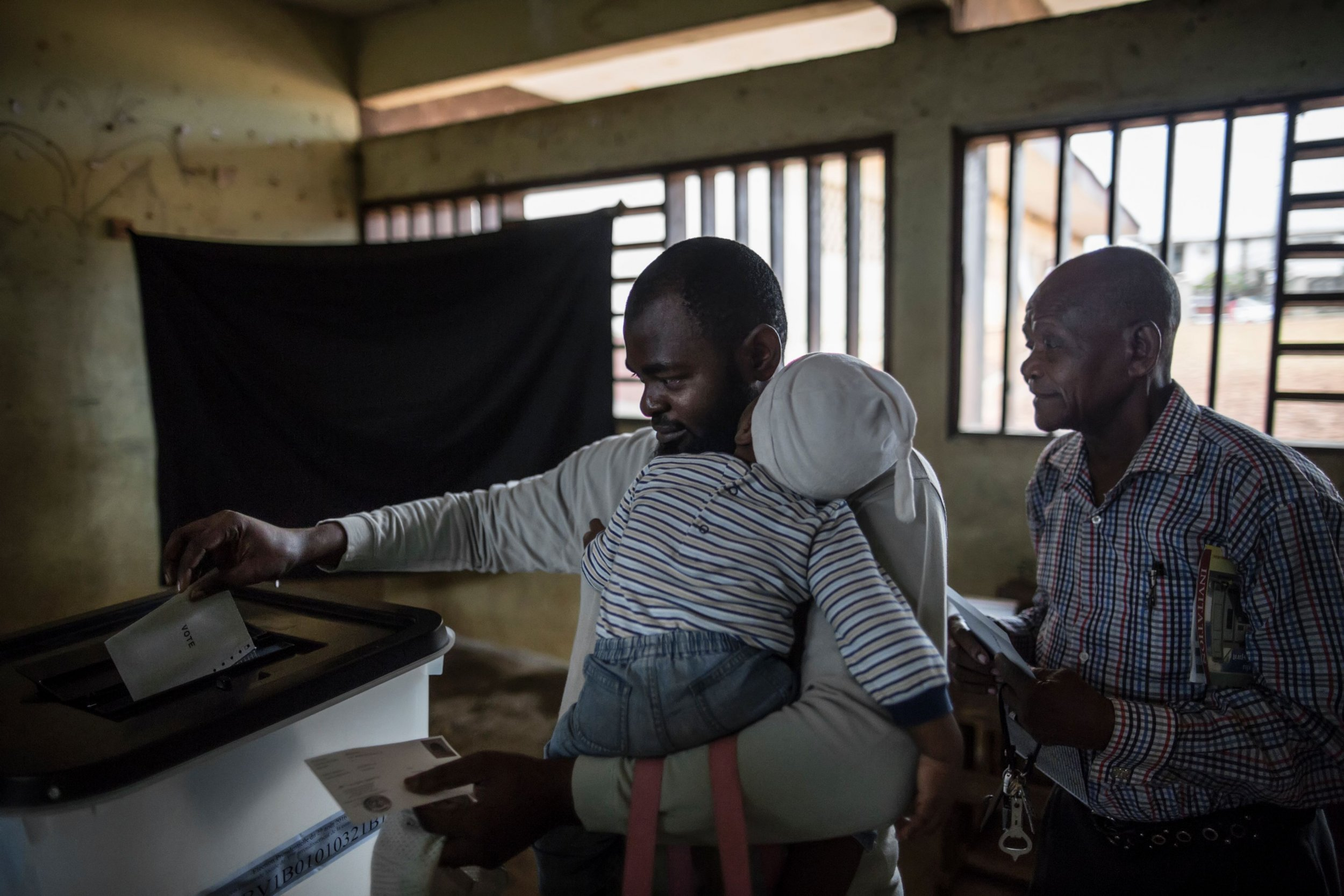 Gabon voters