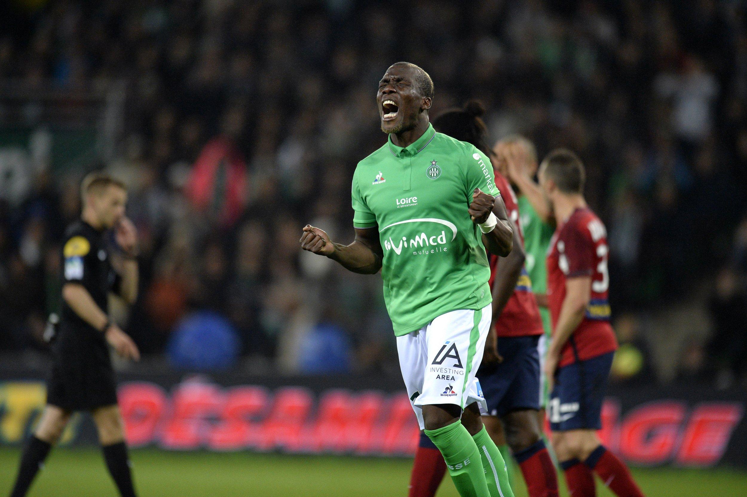 Saint-Etienne defender Florentin Pogba.