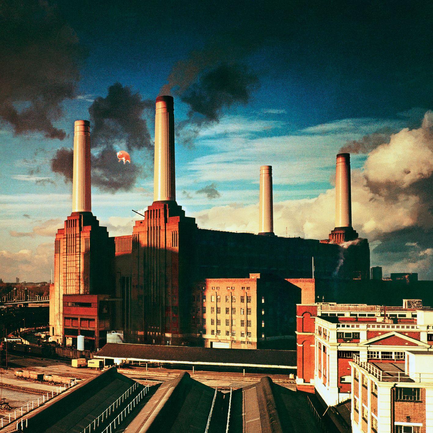 Pink Floyd's Animals album cover