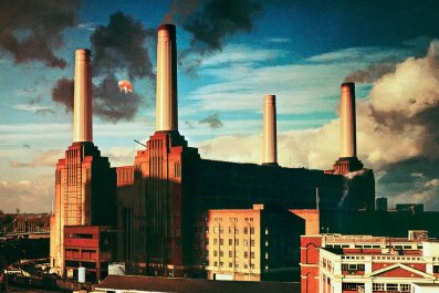 Pink Floyd's Animals album cover