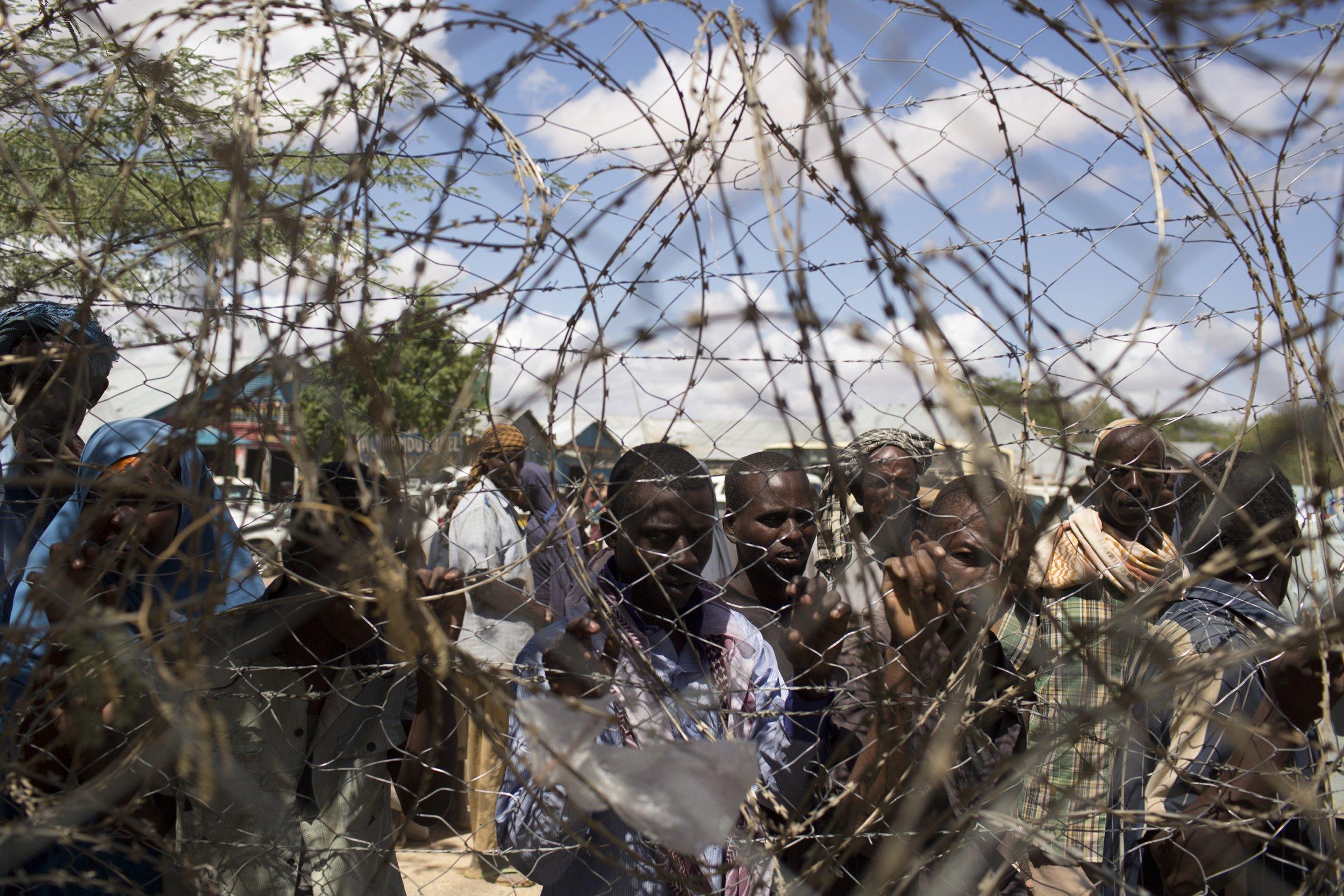 Somali refugees in Dadaab