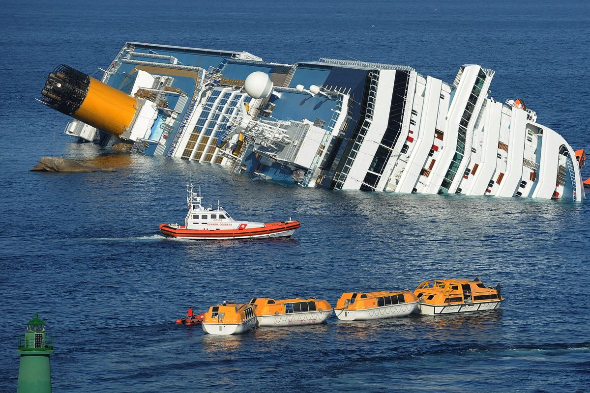Cruise ship Costa Concordia