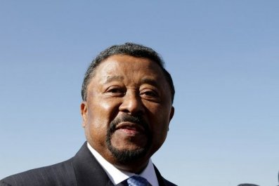 African Union Commission chairman Jean Ping
