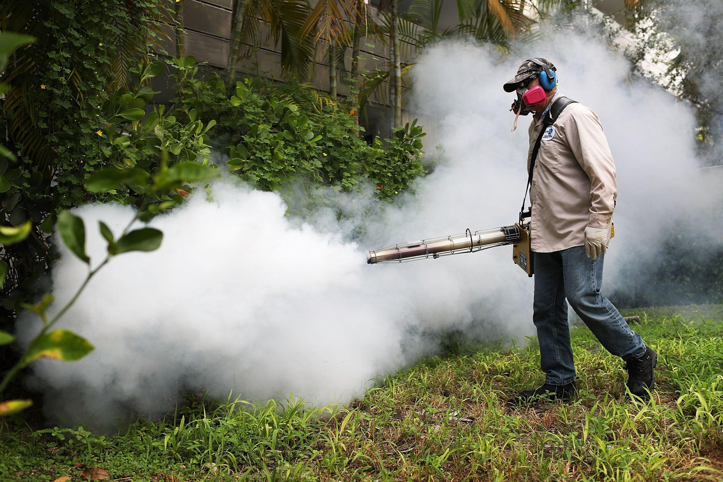 Zika mosquito sprayer