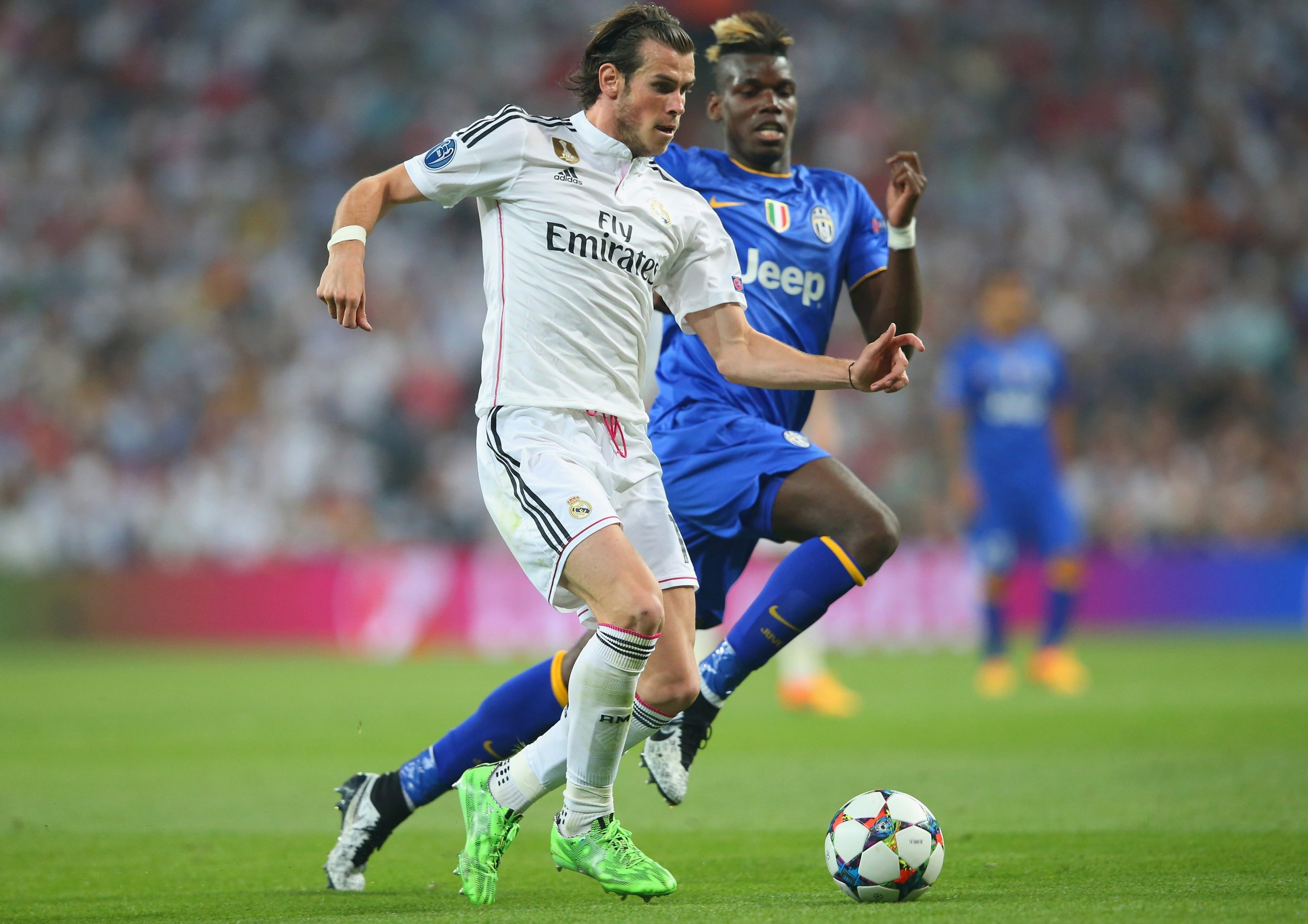 Bale and Pogba