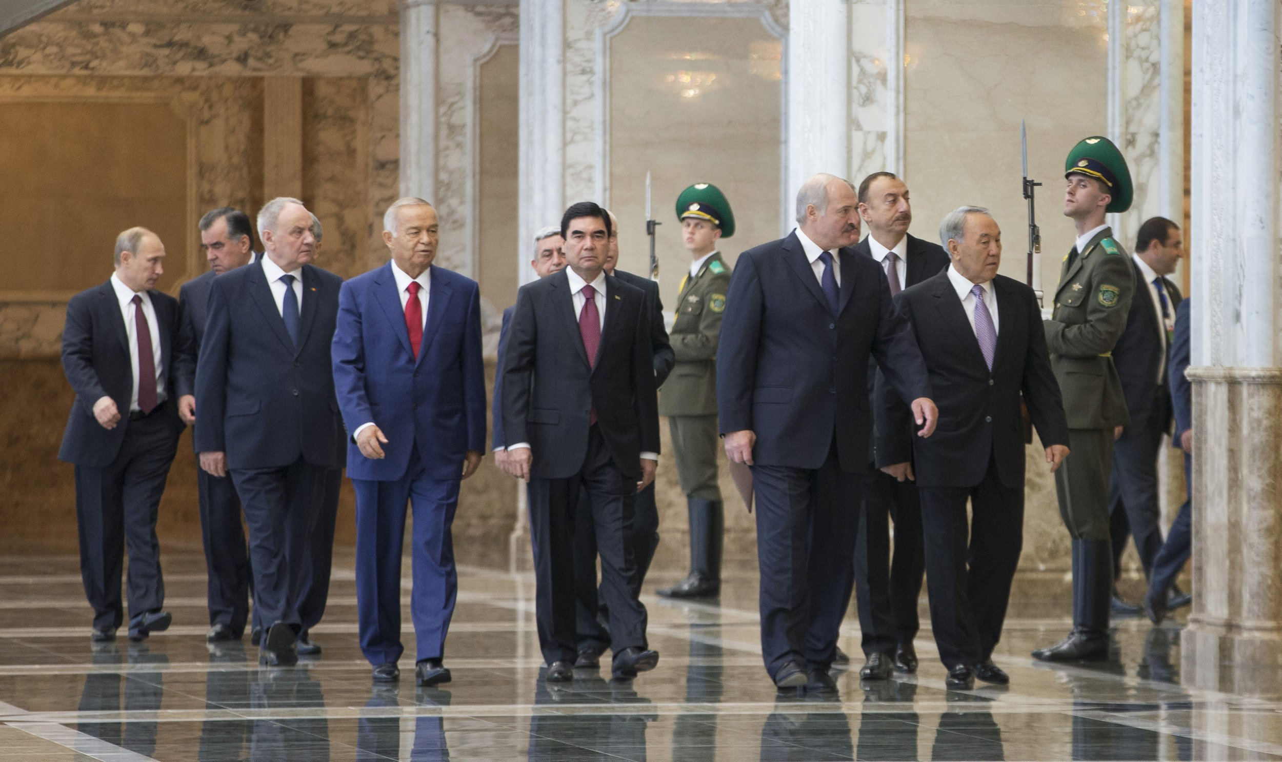 Putin and Central Asian leaders