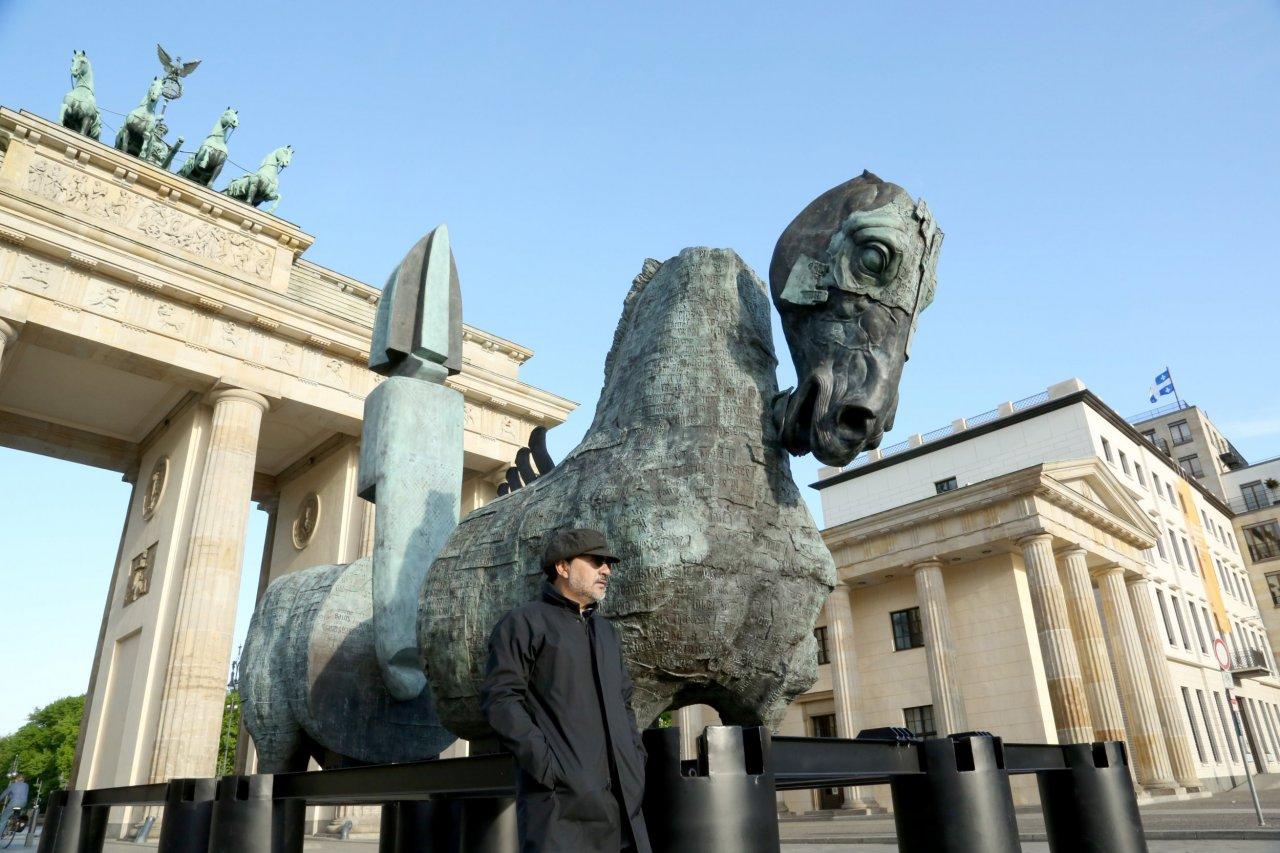 Lapidarium sculpture