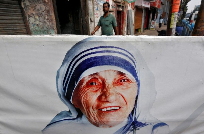 The Mother Teresa stamp was released on September           Image by Thomas