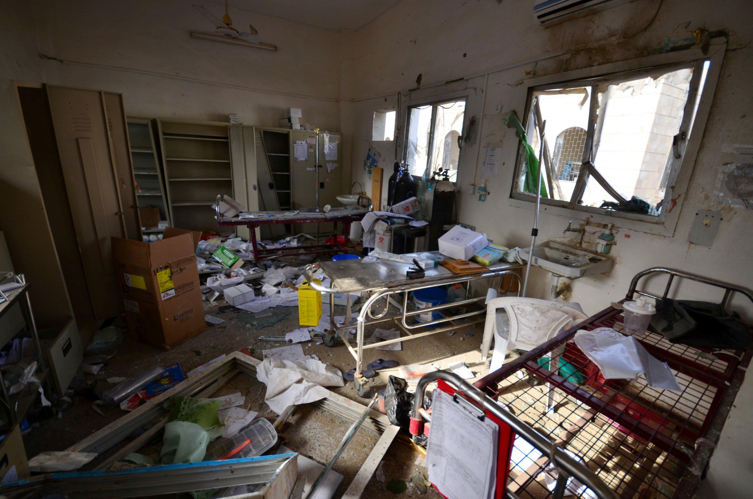 Saudi Hospital Strike