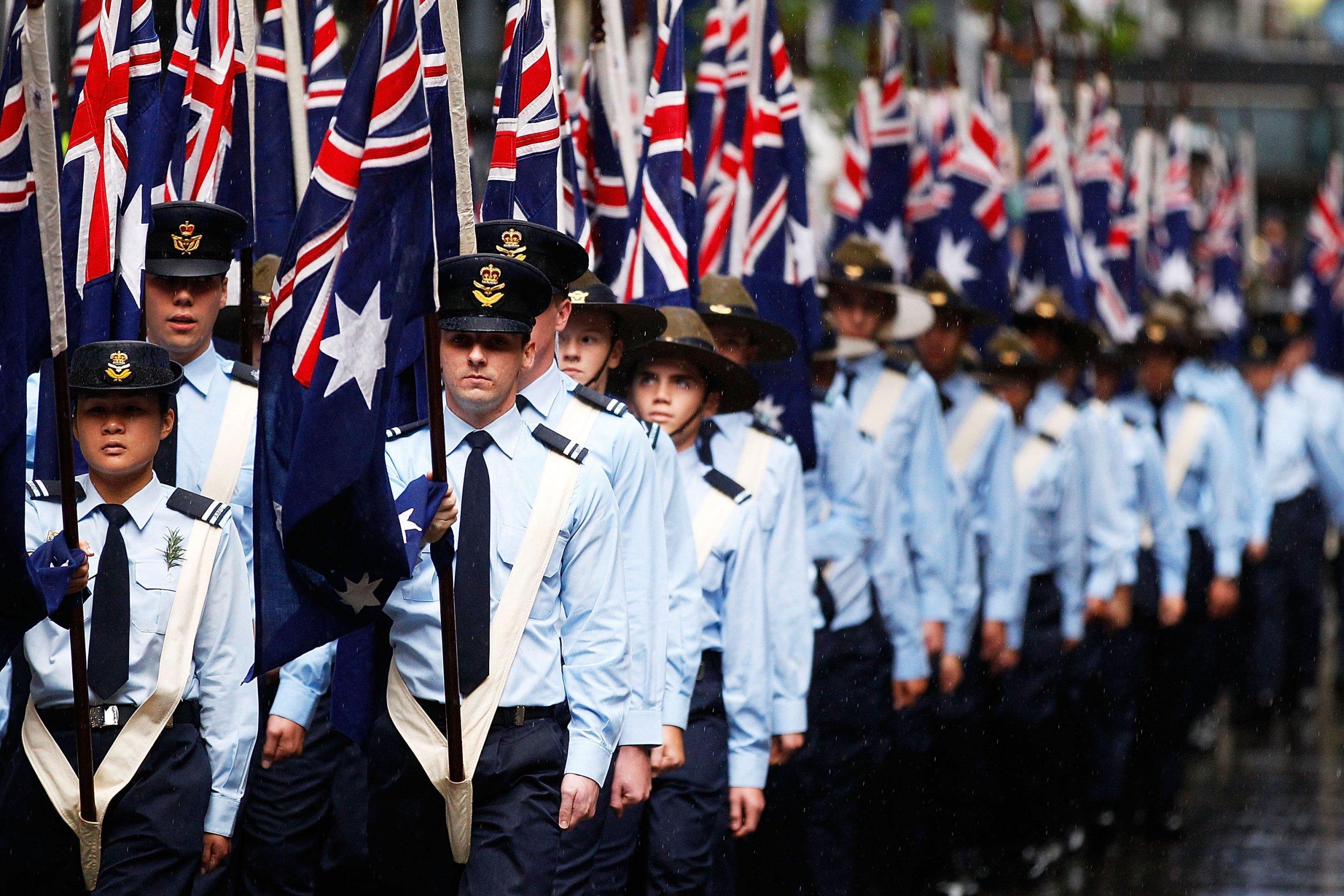 Australia Anzac Day parade