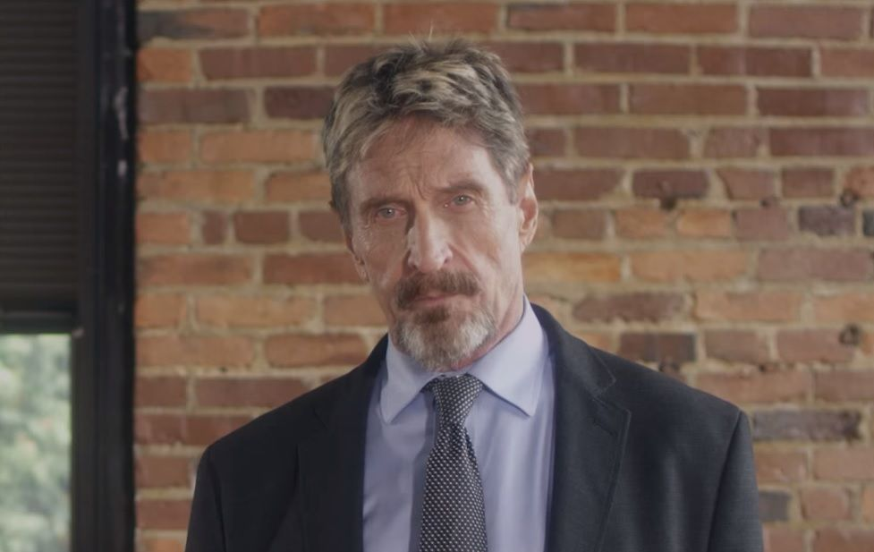 John Mcafee sue Intel name