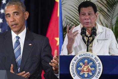 Barack Obama and Rodrigo Duterte