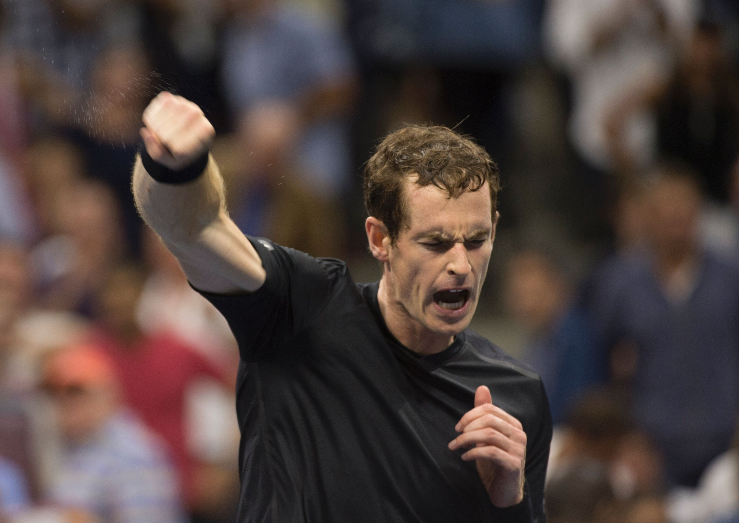 World number two tennis player Andy Murray.