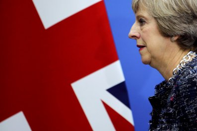 Theresa May at G20 summit