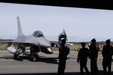 Danish fighter jet