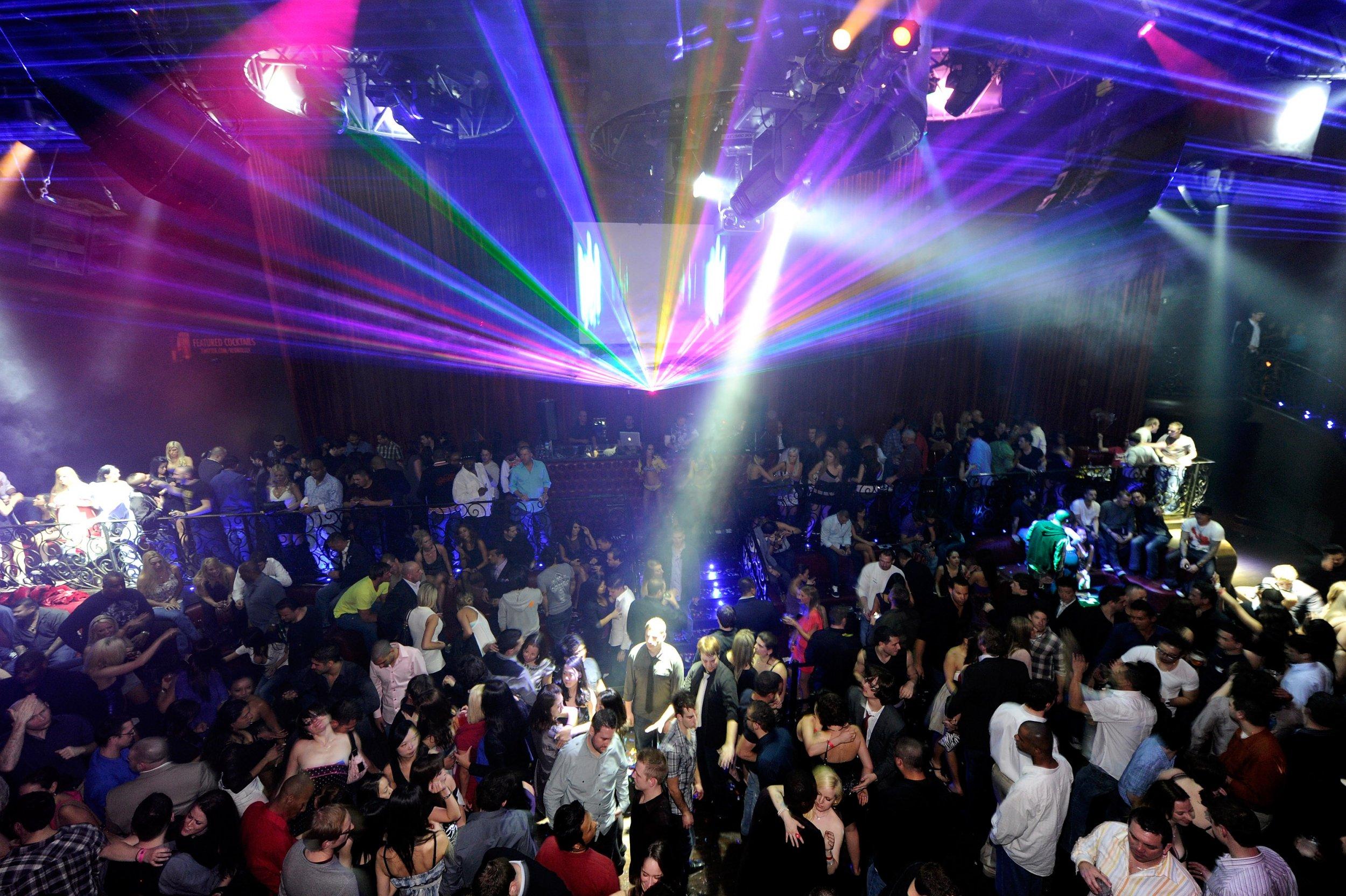 Nightclub party night