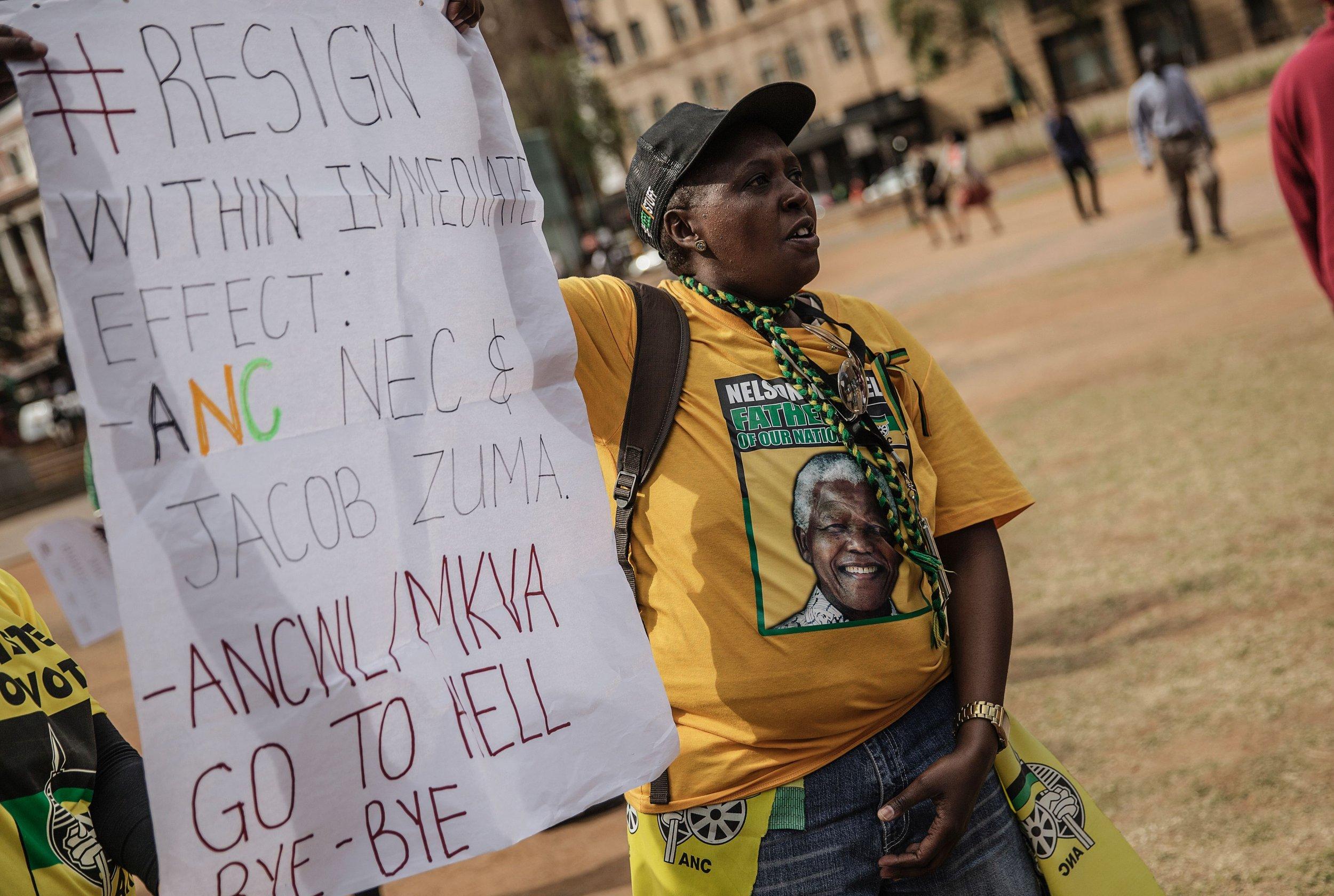 ANC protester