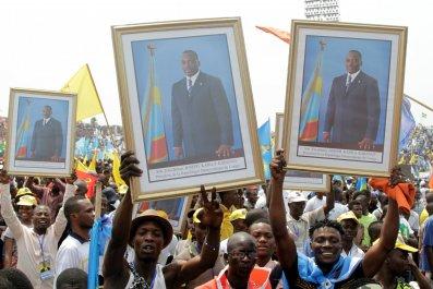 Joseph Kabila rally