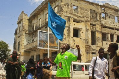 Hassan Sheikh Mohamud election