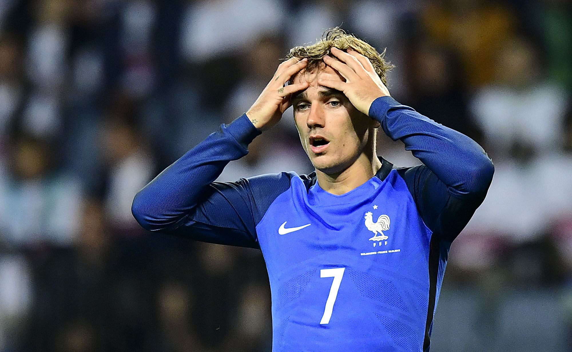 France and Atletico Madrid star Antoine Griezmann.