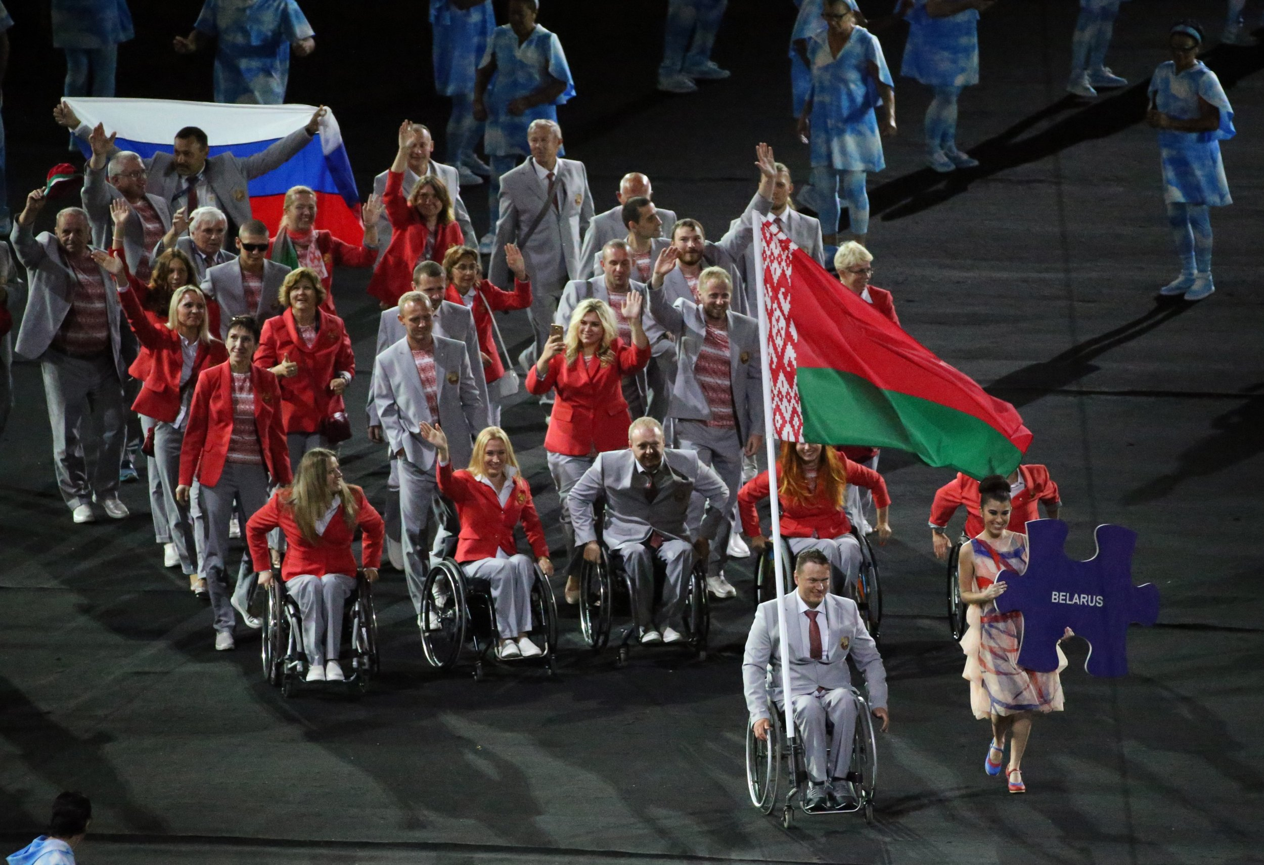 Belarus paralympians