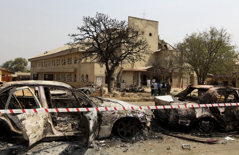 Boko Haram church