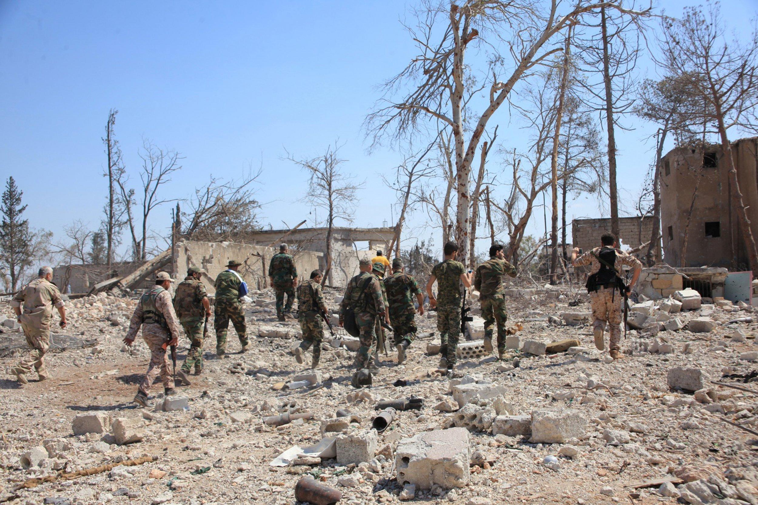 Southwestern Aleppo