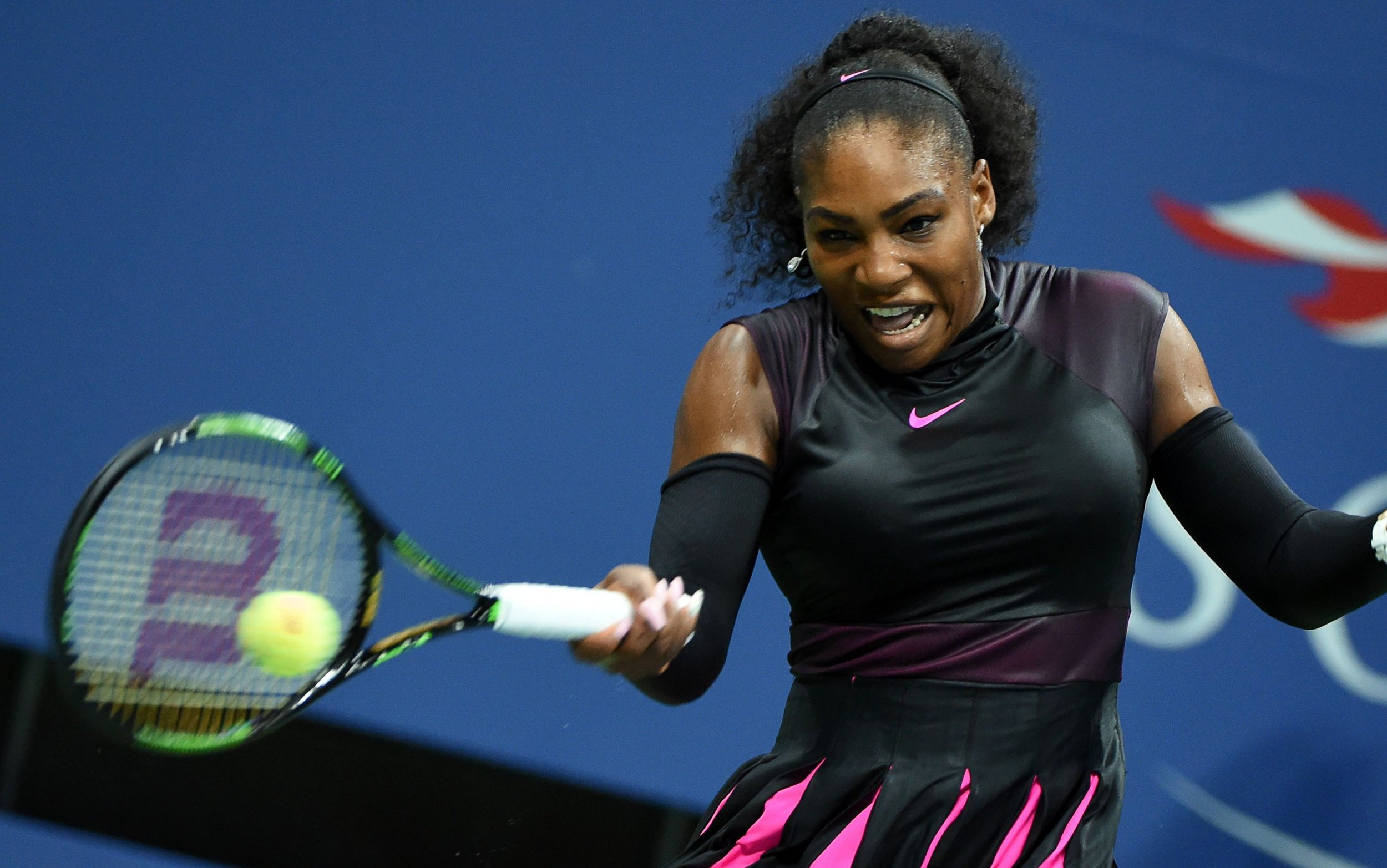 Professional tennis player Serena Williams