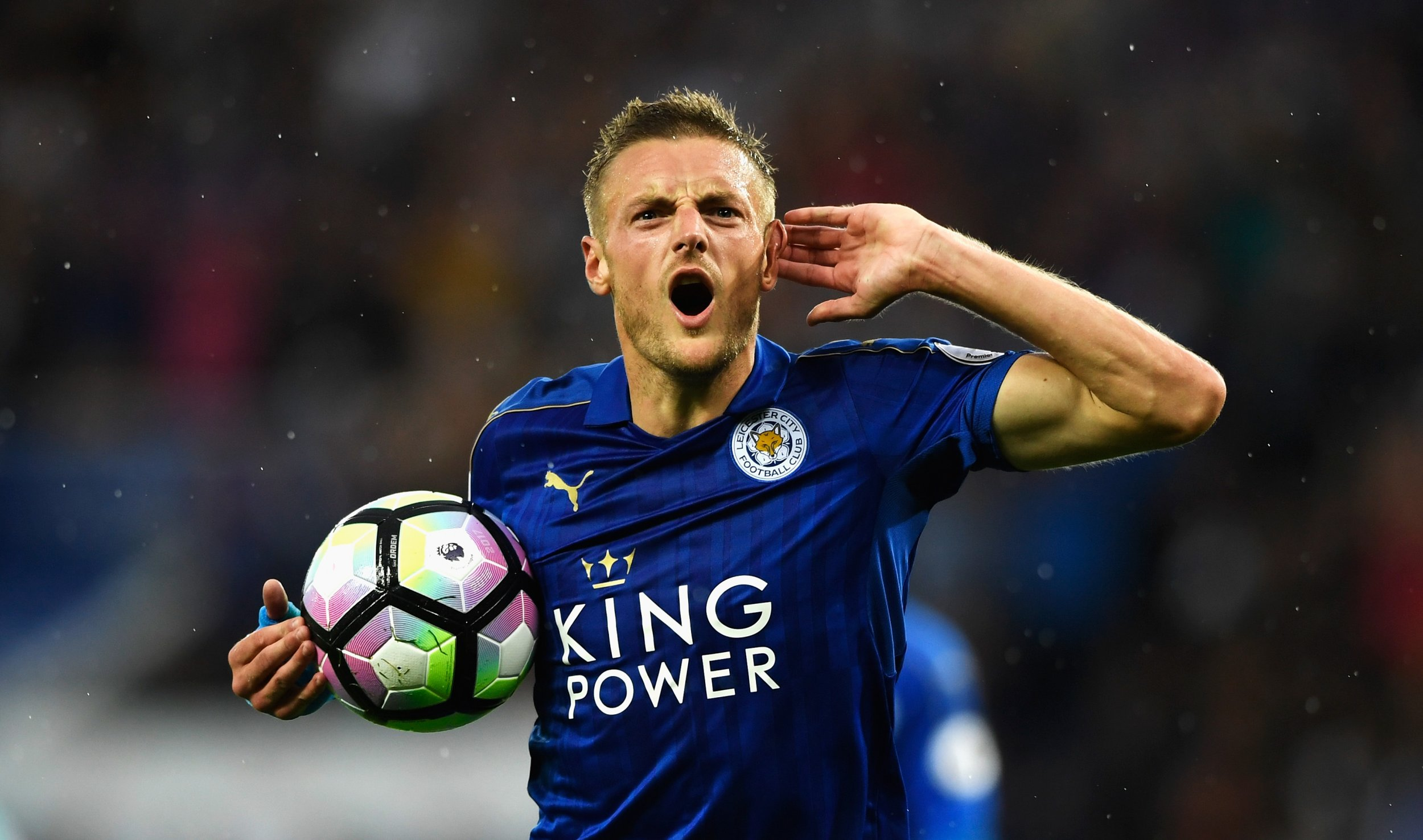 Leicester City Claudio Ranieri Sets Challenge For Jamie Vardy