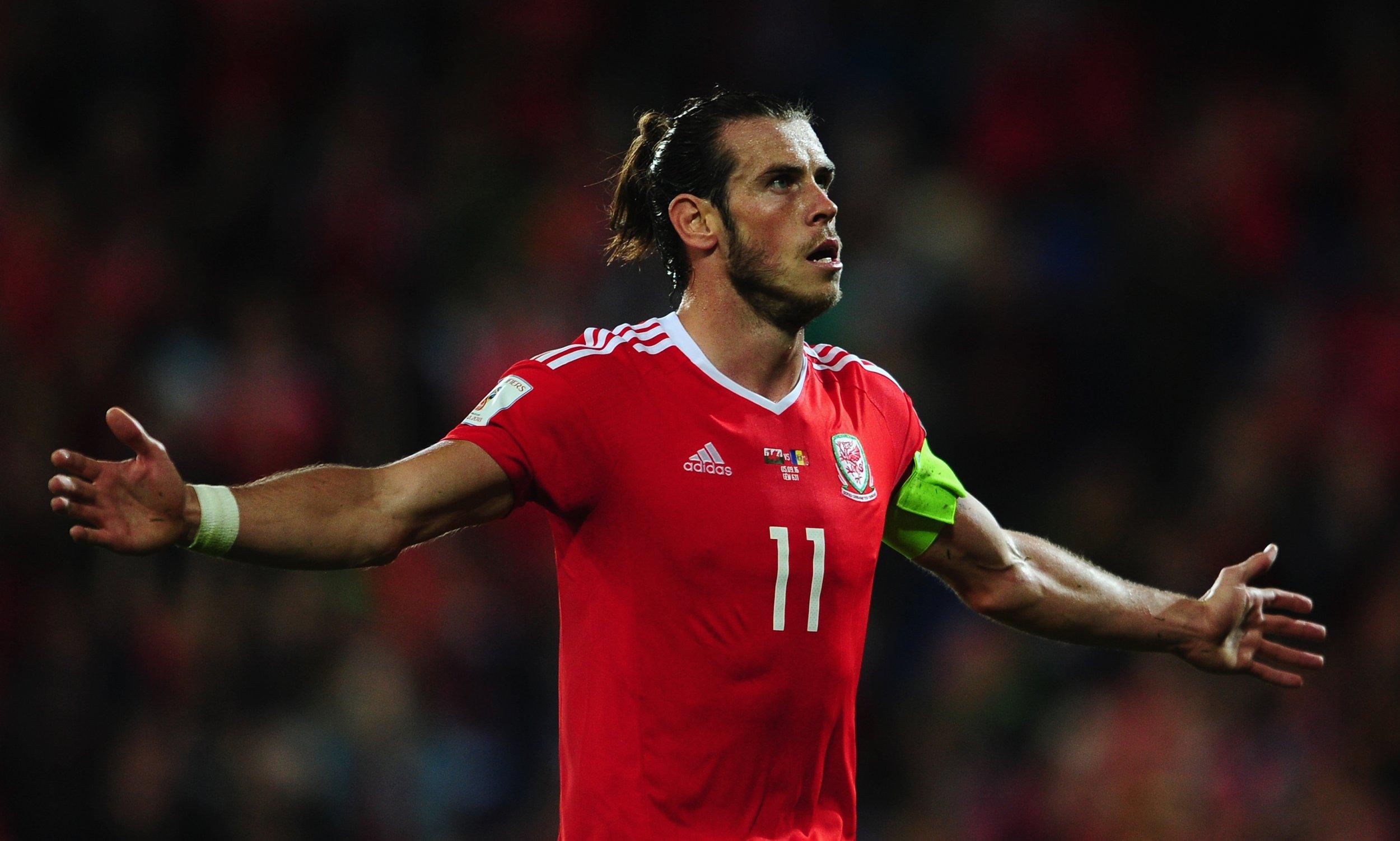 Wales and Real Madrid star Gareth Bale.