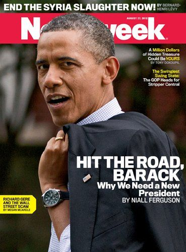 Niall Ferguson On Why Barack Obama Needs To Go